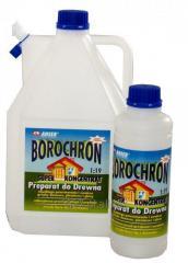 Borochron koncentrat 1 do 9  Impregnat do drewna pleśniobójczy