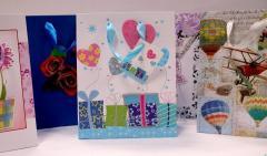 Torby papierowe na prezenty (błyszczące,