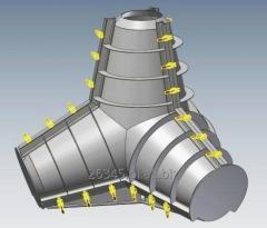 Formy stalowe EW 1,5 do produkcji gwiazdoblokw - nowe