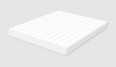 Extremely lightweight sandwich panels filled with