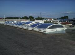 Skylights made of durable polycarbonate