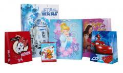 Torby prezentowe z postaciami z bajek Disneya