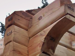 Spas, recreational, saunas of timber of square or