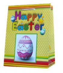 Torebki prezentowe z motywem Świąt Wielkanocnych