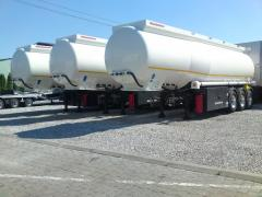 Semitrailer- cisterns for dark petroleum products