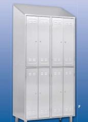 Металлический шкаф для одежды тип LS