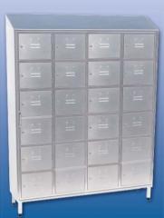 Металлический шкаф для одежды переменного с 24