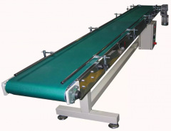 Conveyors with single or double belt for sorting,