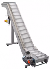 Inclined belt conveyors
