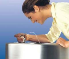 Питьевой фонтанчик из нержавеющей стали