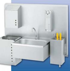 Hygiene and sanitary accessoris and equipment