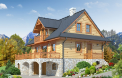 Houses, recreational, leisure, resort and hotel