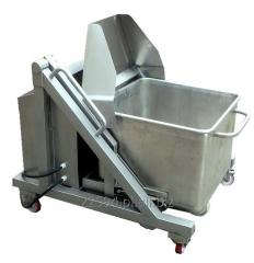 Tilters for vegetable containers