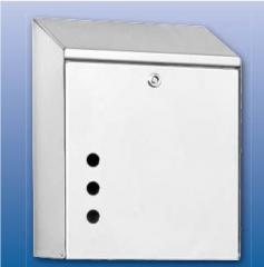 Dispenser for disposable towels, a dispenser of