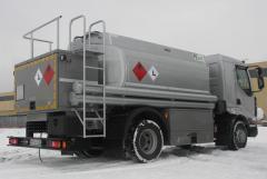 Tank-trucks, cesspoolage
