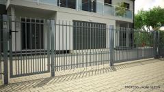 System ogrodzeniowy QUEEN - bramy, furtki,