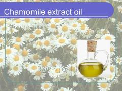 Ekstrakt  z rumianku, koncentrat 100%  (Lipofhilic extract, concrete, of Camomile flowers)