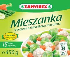 Mieszanka warzywna 6 składnikowa