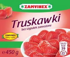 Truskawki mrożone Zamvinex