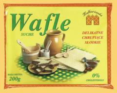 Wafle tortowe suche