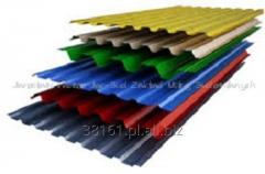 Sheets roofing wavy cement- fibrous