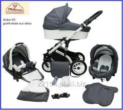 Wózek 3w1 PLAUDI II
