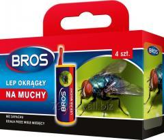 Bros lep okrągły na muchy/