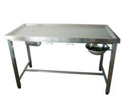 Stół zabiegowy profilowany zagłębiony dla najwyższej jakości obsługi pacjentów lecznic weterynaryjnych