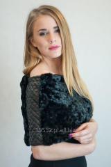 Bolerko Karakuł Callis czarne