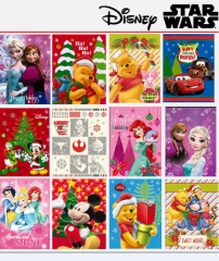 Paper gift bag Disney and Star Wars, Christmas,