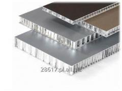 Panel aluminiowy z wypełnieniem typu plaster miodu Honeycomb