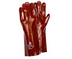 Rękawice PVC o wysokiej odporności chemicznej