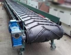 Transportery taśmowe stosowane w wielu gałęziach przemysłu