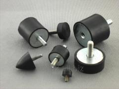 Wibroizolatory, Amortyzatory gumowo-metalowe