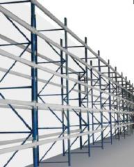 Pallet racks, ordinary high storage
