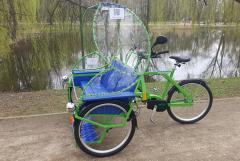Pojazdy elektryczne, zamienniki meleksów - riksze elektryczne, rowery trzykołowe