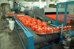 Linia do zalewania parafiną kubków plastikowych (tuby)