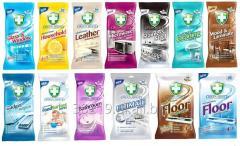 GREEN SHIELD - nawilożone chusteczki do czyszczenia