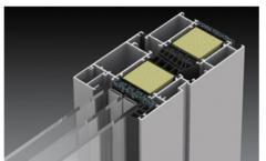 Profile aluminiowe z przekładką termiczną stosowane do produkcji okien