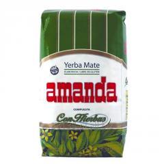 Yerba Mate Amanda Con Hierbas 0,5kg Argentyna