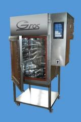 Komory wędzarniczo-parzelnicze z funkcją pieczenia w temperaturze do 220 ºC