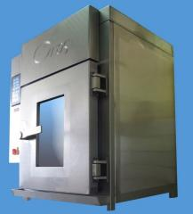 Smoking booths for meat industry