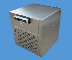Equipment for the manufacture of dry ice granules
