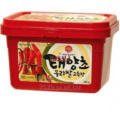 Koreańska Ostra Pasta z Papryki Gożużan   Gochu Jang   Gochujang 500g Sempio