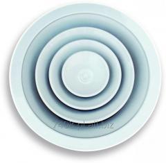 Anemostaty sufitowe okrągłe CDCK