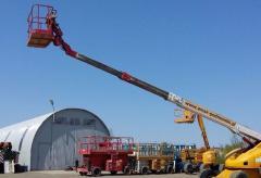 Używany  podnośnik koszowy teleskopowy  Haulotte H21 TX z napędem diesel