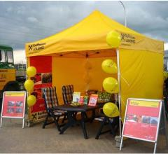 Awnings for advertising and trade