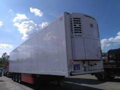Schmitz chłodnia doppelstock mega 2006 r. Agregat Carrier Maxima 1300, drukarka. ABS/EBS