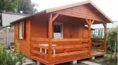Domek drewniany Krzyś