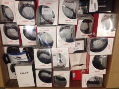 Zegarki z funkcjami pulsometrow  mix – retourware; Suunto, Garmin